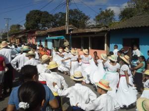 Nicaragualainen kyläjuhla